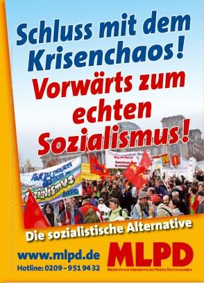 Die sozialistische Alternative jetzt zum Tagesgespräch machen