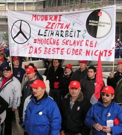 Weltmarktoffensive auf dem Rücken der Daimler-Beschäftigten