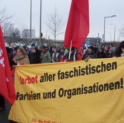 Faschisten richten sich immer offener gegen Arbeiterbewegung