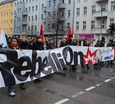 Internationalistisch, rebellisch, sozialistisch – am 14./15. Januar 2012 auf nach Berlin!