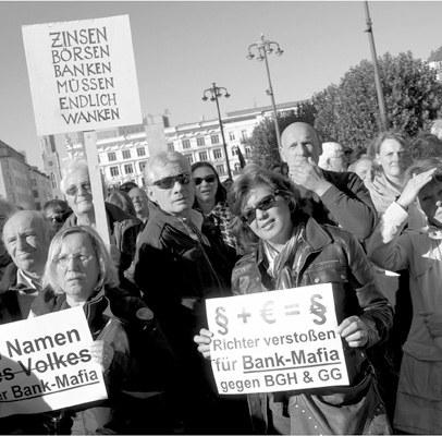 Demonstrationsfreie Zone Bankenviertel?