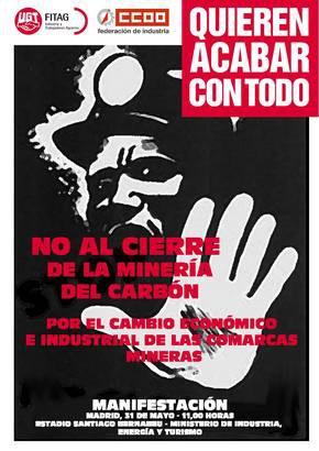 Spanische Bergarbeiter an der Spitze des Kampfes gegen das Krisenprogramm