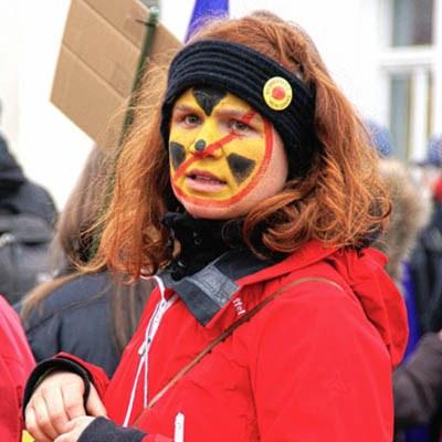 """Millionen Unterschriften für den """"Abschied von der Atomkraft""""!"""
