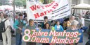 8 Jahre Montagsaktion Hamburg