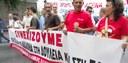 Demo in Athen, 9. Oktober