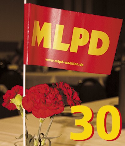 """Happy birthday MLPD!"""