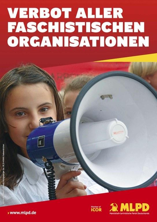 Verbot aller faschistischer Organisationen