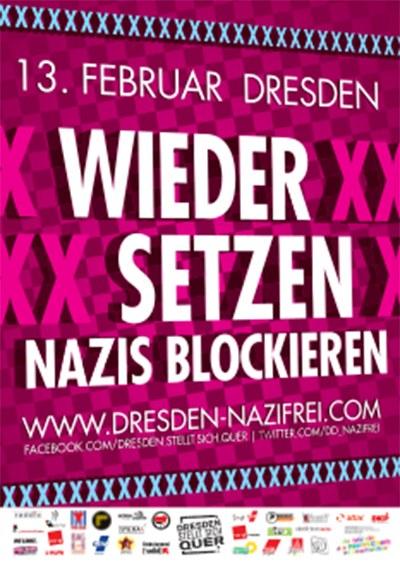 """13. Februar in Dresden: """"Sie kommen nicht durch!"""""""