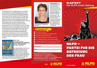 MLPD – Partei Für die Befreiung der Frau