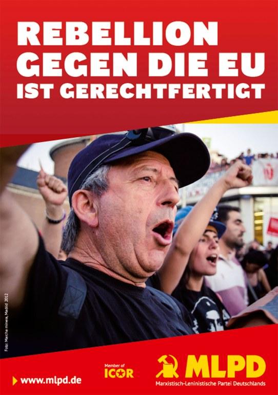 """""""Rebellion gegen die EU ist dringend nötig"""" - Die Spitzenkandidaten der MLPD zur Europawahl 2014"""