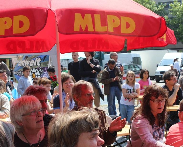 MLPD läutet Endspurt des Europawahlkampfs ein