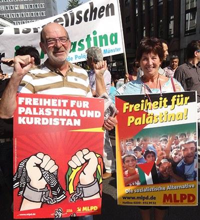 Palästina-Konflikt: Die MLPD steht in der Tradition der sozialistischen Länder