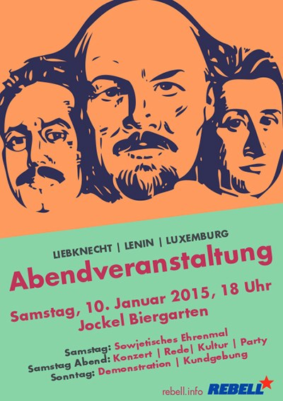 Lenin-Liebknecht-Luxemburg-Aktivitäten 2015