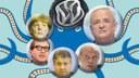 """Broschüre """"VW-Krise – wie Automonopole mit Hilfe des Staates Milliardenprofite durch höchst kriminelle Machenschaften einstreichen"""""""
