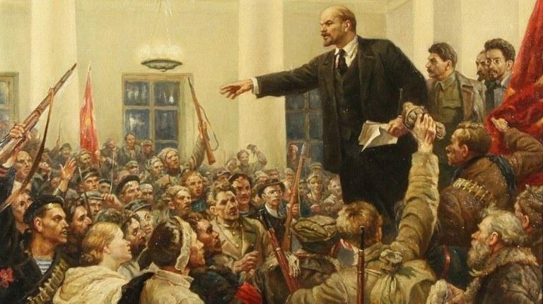 Das Jahrhundert-Ereignis: Die Oktoberrevolution 1917 verändert die Welt