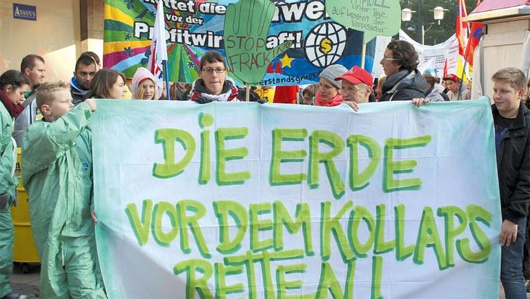 Macht mit in der Umweltplattform des Internationalistischen Bündnisses