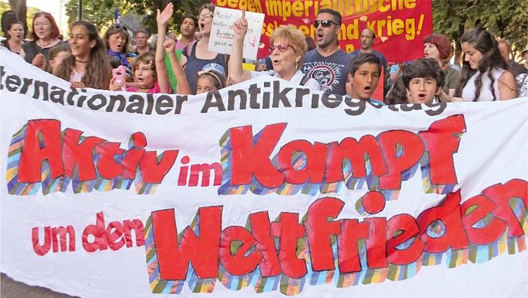 Aufruf der MLPD zum Antikriegstag 2017