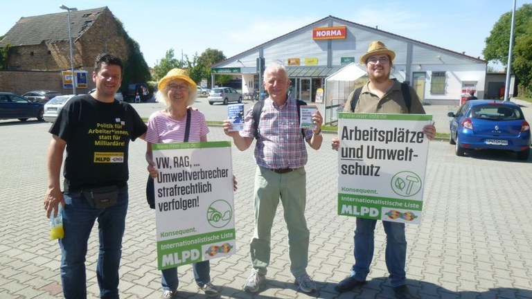 Erfolgreiche Lausitz-Tour - Kontrastprogramm zu TV-Duell