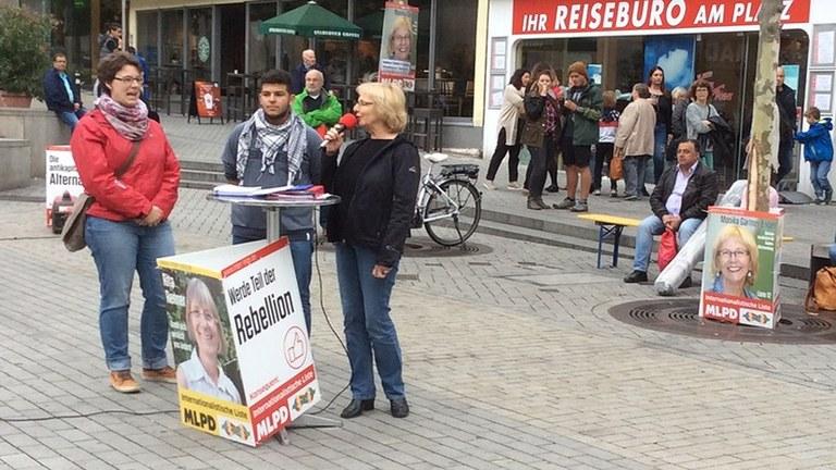 In Stadt und Land - Wahlkampf in Baden-Württemberg