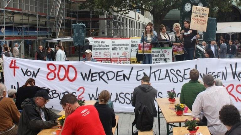 "Wahlkampfauftakt in Hannover: ""Hier wird Tacheles geredet!"""