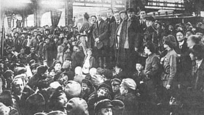 Wie die Bolschewiki die entscheidende Mehrheit in Russland eroberten