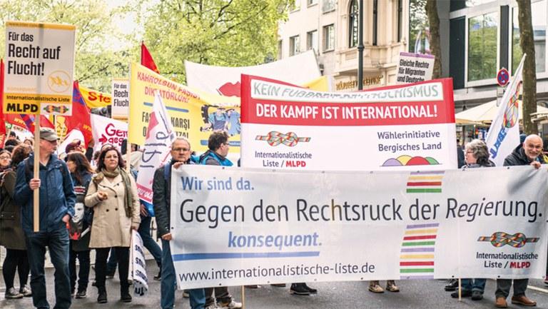 Unentschlossene und Nichtwähler Internationalistische Liste wählen
