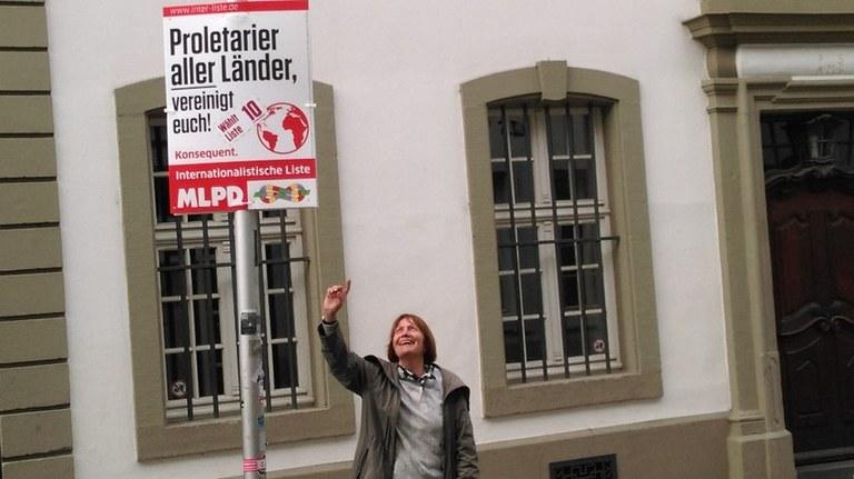 Trier: Wahlkampf in der Marx-Stadt