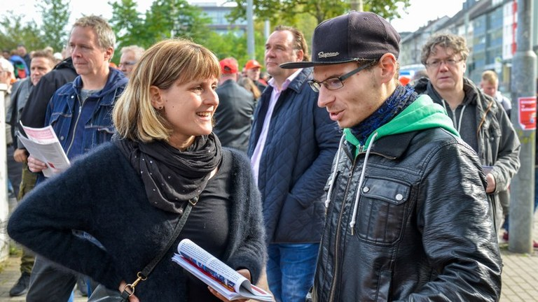 Video-Interview mit Gabi Fechtner zu den Ergebnissen der Bundestagswahlen