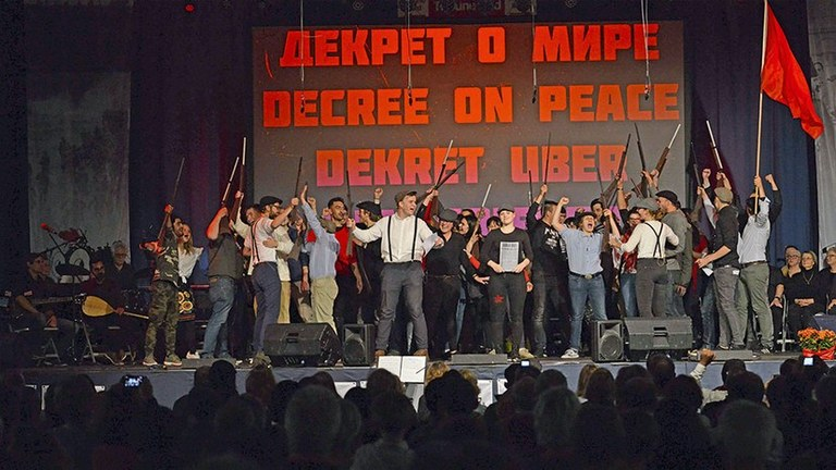 Oktoberrevolution – Sozialismus ist möglich!