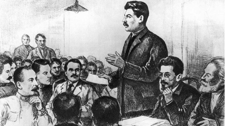 Stalins Rolle in der Oktoberrevolution