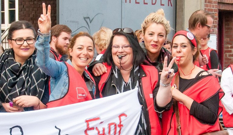 Tarifrunde aktuell Nr. 7 - Gegen Provokationskurs der Arbeitgeberverbände: Einsatz der vollen gewerkschaftlichen Kampfkraft!