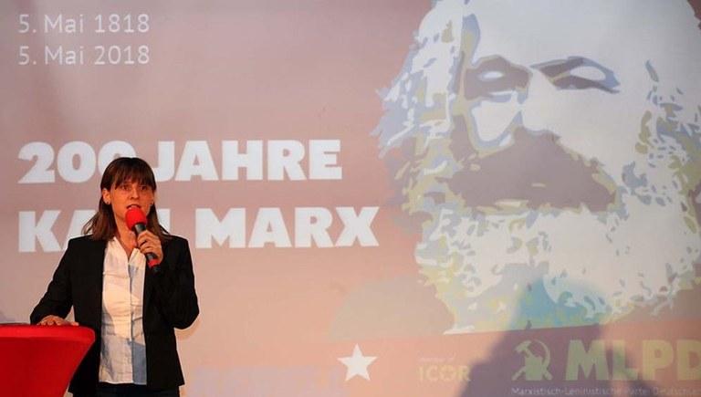 Über 400 Menschen bei Festakt der MLPD zum 200. Geburtstag von Karl Marx