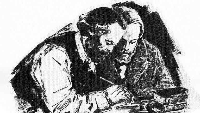 Harte wissenschaftliche Arbeit – ein Schlüssel zu Karl Marx' Lebenswerk