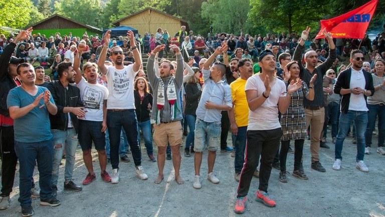 Nach gescheitertem Angriff des Staatsapparats auf Rebellisches Musikfestival und MLPD:  MLPD fordert lückenlose Aufklärung, Bestrafung der Verantwortlichen und Schadensersatz