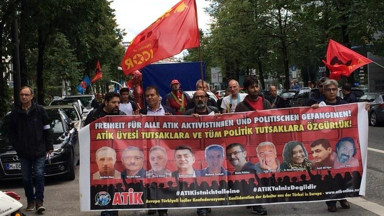 Freiheit für die Gefangenen der ATIK
