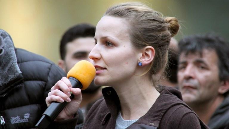 Solidarität mit Lisa Gärtner