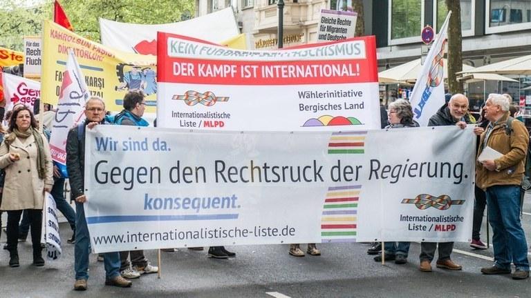 Gemeinsam gegen die Rechtsentwicklung von Regierungen und bürgerlichen Parteien!