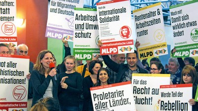 Radio- und Fernsehwahlspots der Internationalistischen Liste/MLPD