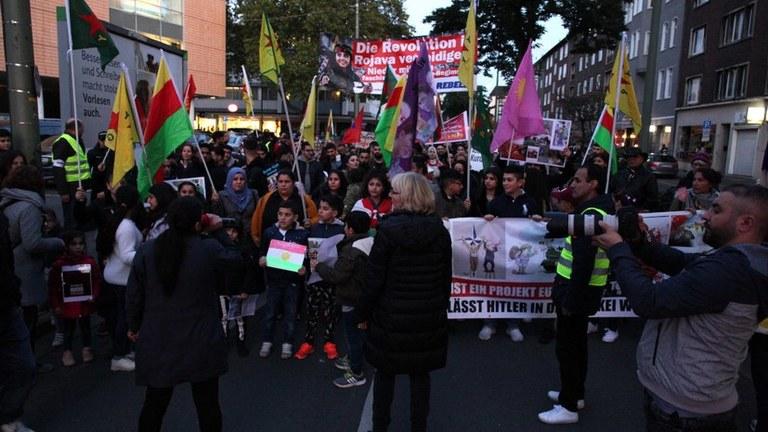 Hände weg von Rojava! Internationale Ächtung des völkerrechtswidrigen Angriffskrieges der Türkei!