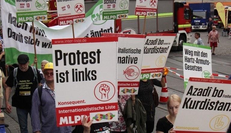 Europawahl: Internationalistische Liste / MLPD kandidiert