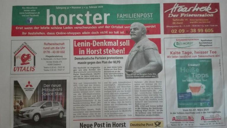 Es ist die Unwahrheit, dass Lenin ein Massenmörder war