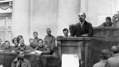 Lenins Aprilthesen – Kurs auf die sozialistische Revolution