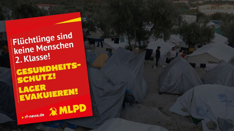 Krach schlagen für die Evakuierung der Flüchtlings-Camps