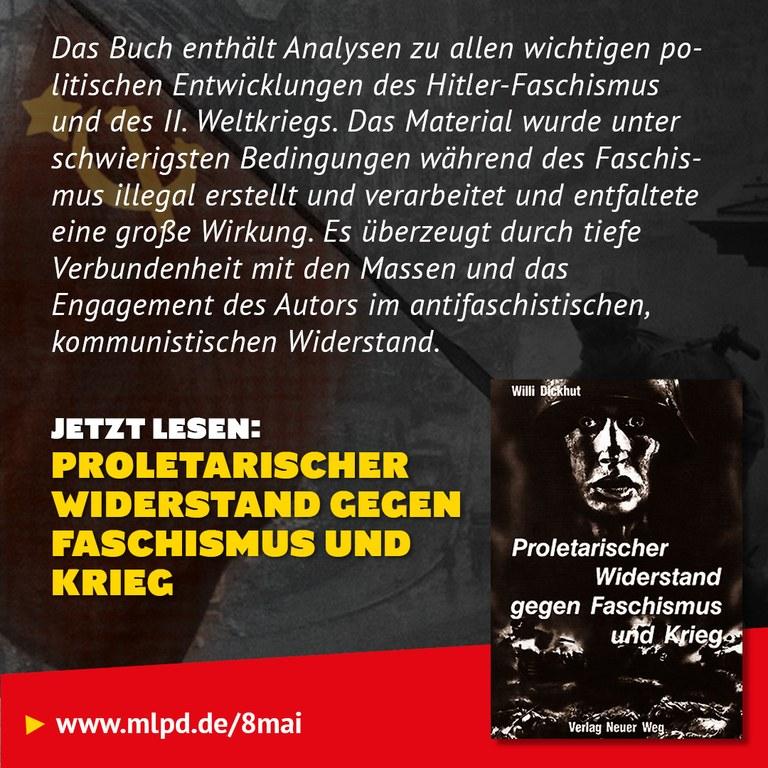 Buchtipp: Proletarischer Widerstand Gegen Faschismus und Krieg