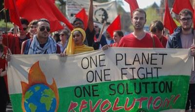 Jugendverband REBELL beteiligt sich an antikapitalistischem Aktionstag!