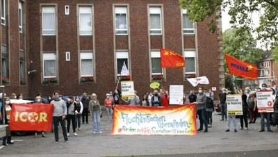 Tausende gingen in Deutschland auf die Straße