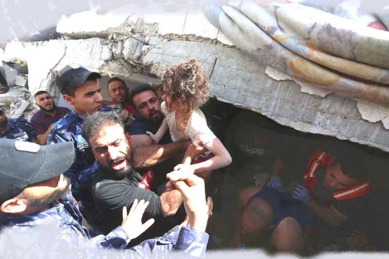 Verurteilt die zionistischen Aggressionen in Jerusalem und Gaza in Palästina!
