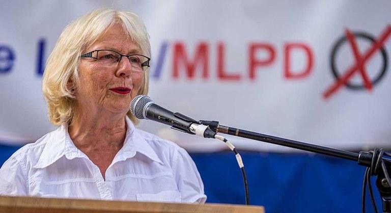 """MLPD: """"Internationale Solidarität ist kein Terrorismus!"""""""