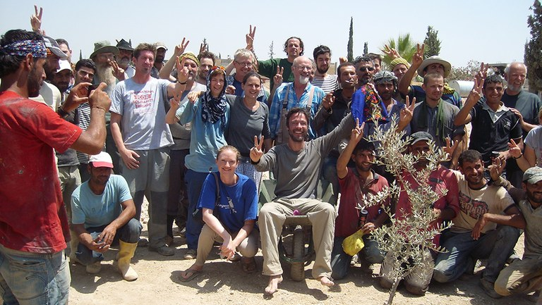 Kobane Brigade Gruppenbild
