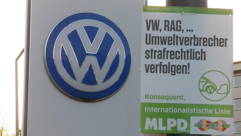 Treu an der Seite der VW-Verbrecher
